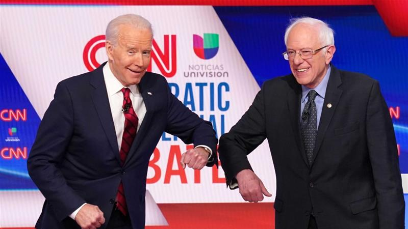 Photo of Bernie Sanders Supports Joe Biden for President