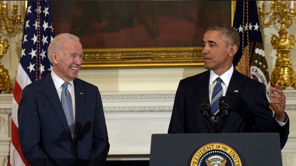 Photo of Barack Obama Publicly Supports Joe Biden as a Presidential Candidate
