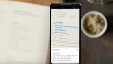 Photo of Google app allows you to pass handwritten notes to your computer