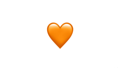 Photo of WhatsApp: What does the orange heart emoji mean?