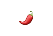 Photo of WhatsApp: What does the red chili emoji mean?