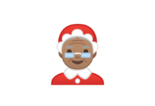 Photo of WhatsApp: What does the Mrs. Claus emoji mean?