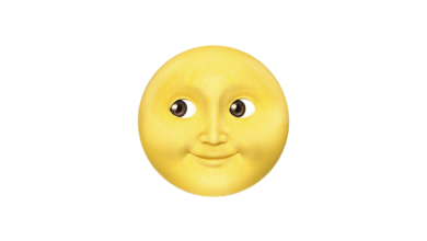 Photo of WhatsApp: What does the smiling full moon emoji mean?
