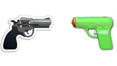 Photo of WhatsApp: What does the gun emoji mean?