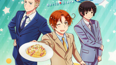 Photo of Hetalia World Stars anime reveals first visual