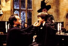 "Photo of Chris Columbus on the filming of ""Harry Potter and the philosopher's stone"""