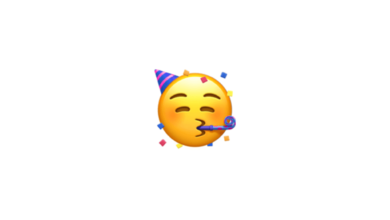 Photo of WhatsApp: What does the emoji with a trumpet and a party hat mean?