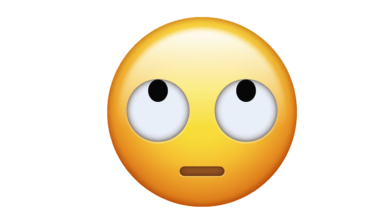 Photo of WhatsApp: What does the emoji of the face with eyes looking up mean?