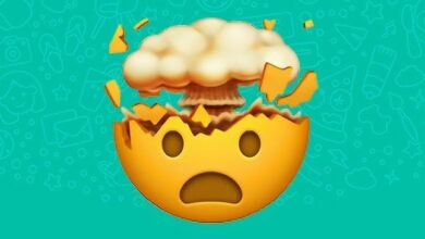 Photo of WhatsApp: What does the exploding head emoji mean?