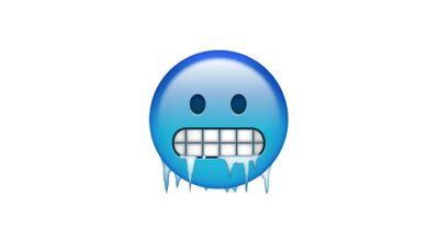 Photo of WhatsApp: What does the frozen face emoji mean?