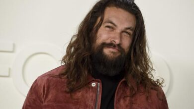 Photo of Jason Momoa video calls and surprises a child Aquaman fan with cancer