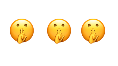 Photo of WhatsApp: What does the emoji asking for silence mean?