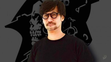 Photo of Kojima Productions prepares an advertisement to celebrate its 5th anniversary