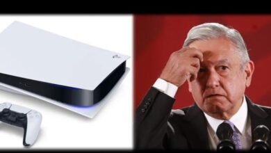 Photo of AMLO mispronounces the name of the PlayStation 5
