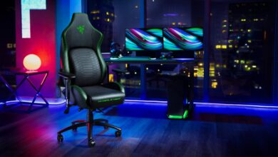 Photo of Razer's new gaming chair will make you want to never move