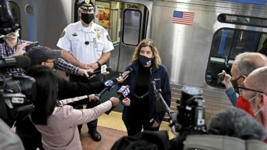 Photo of Train riders in US held up phones as woman was raped, police say